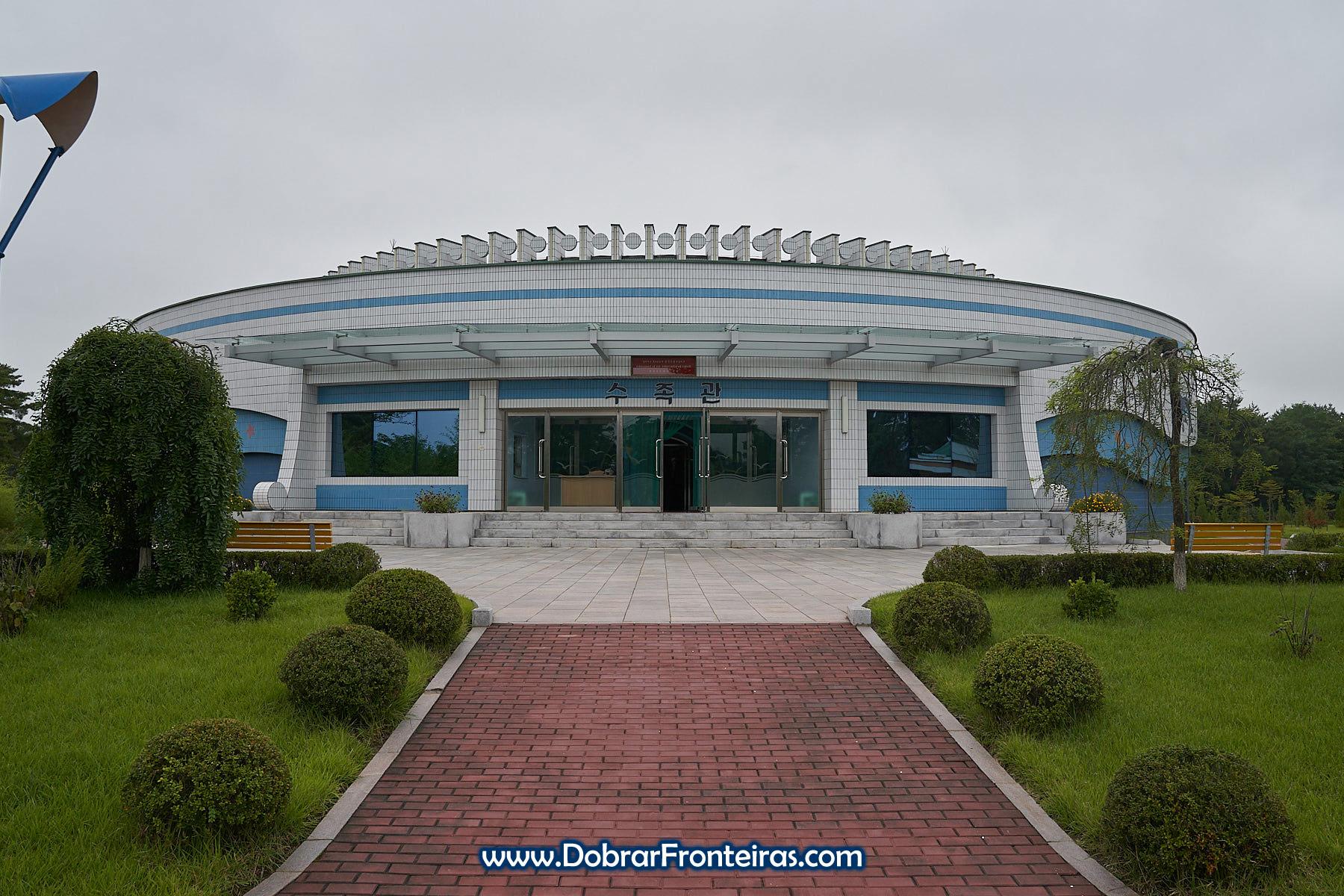 edificío do aquário