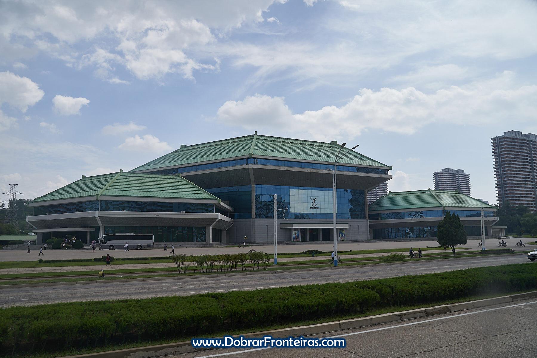 Edifício do circo de Pyongyang
