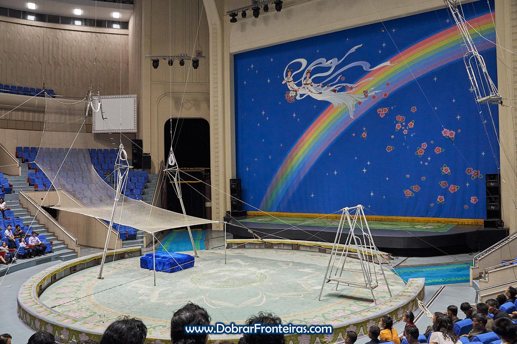 Arena do circo de Pyongyang