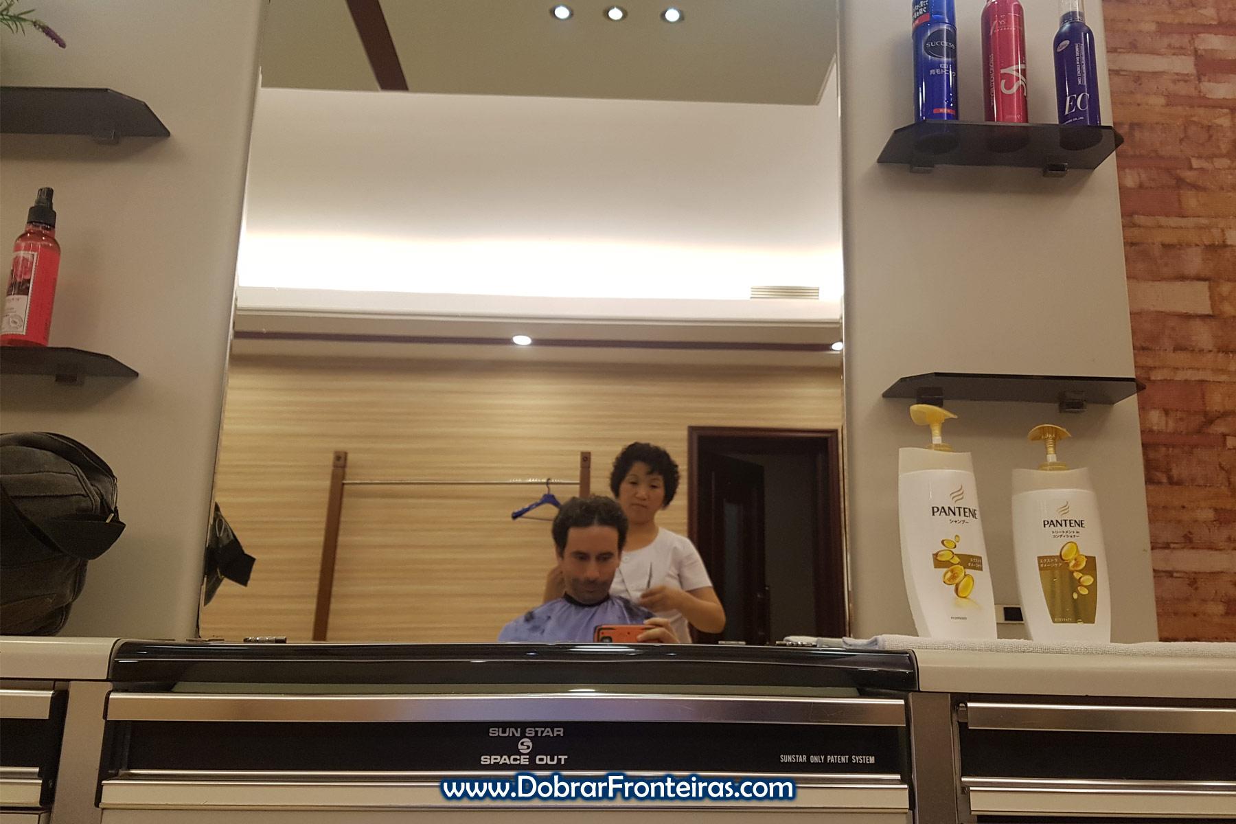 Corte de cabelo na Coreia do Norte