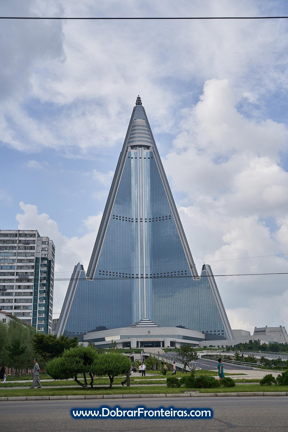 Hotel Ryugyong em Pyongyang
