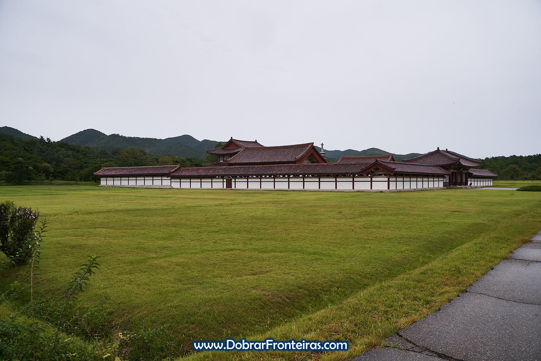 Mosteiro budista na Coreia do Norte