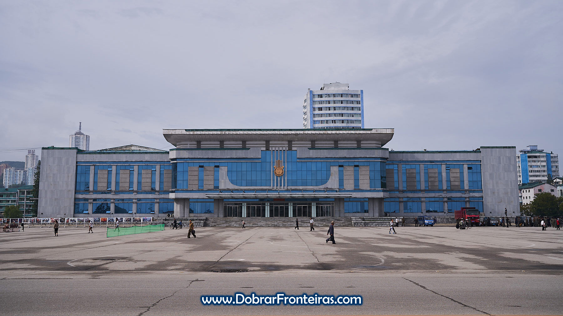 Praça central de Wonsan