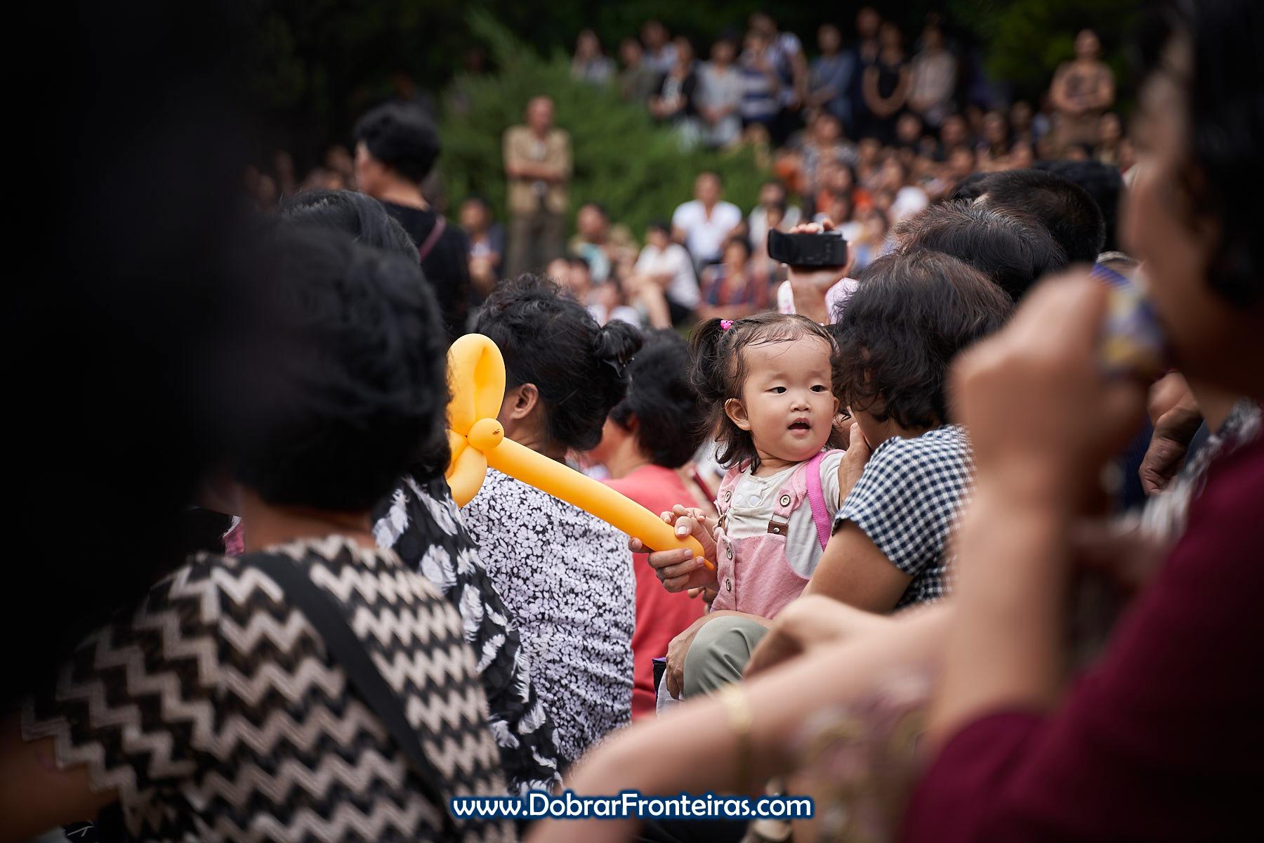 Criança Coreia do Norte