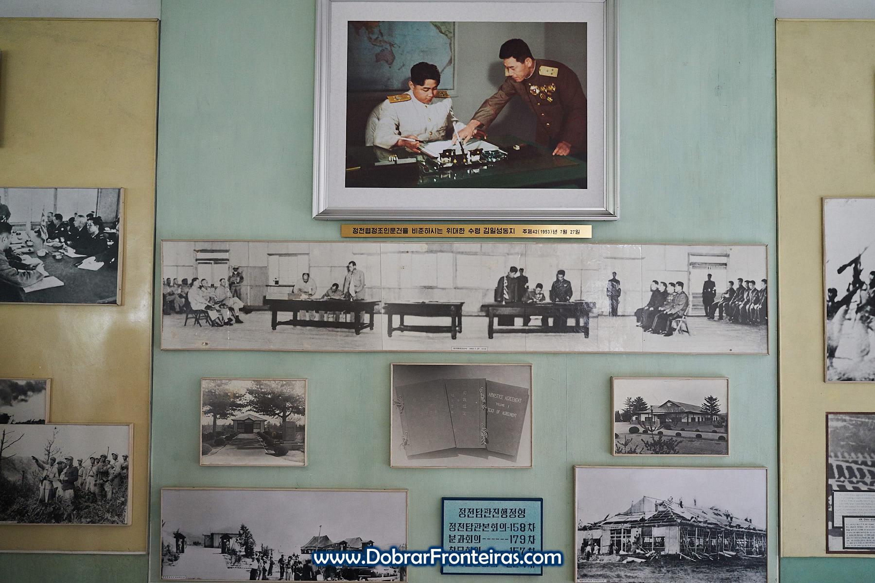 Fotografia histórica da assinatura do armistício