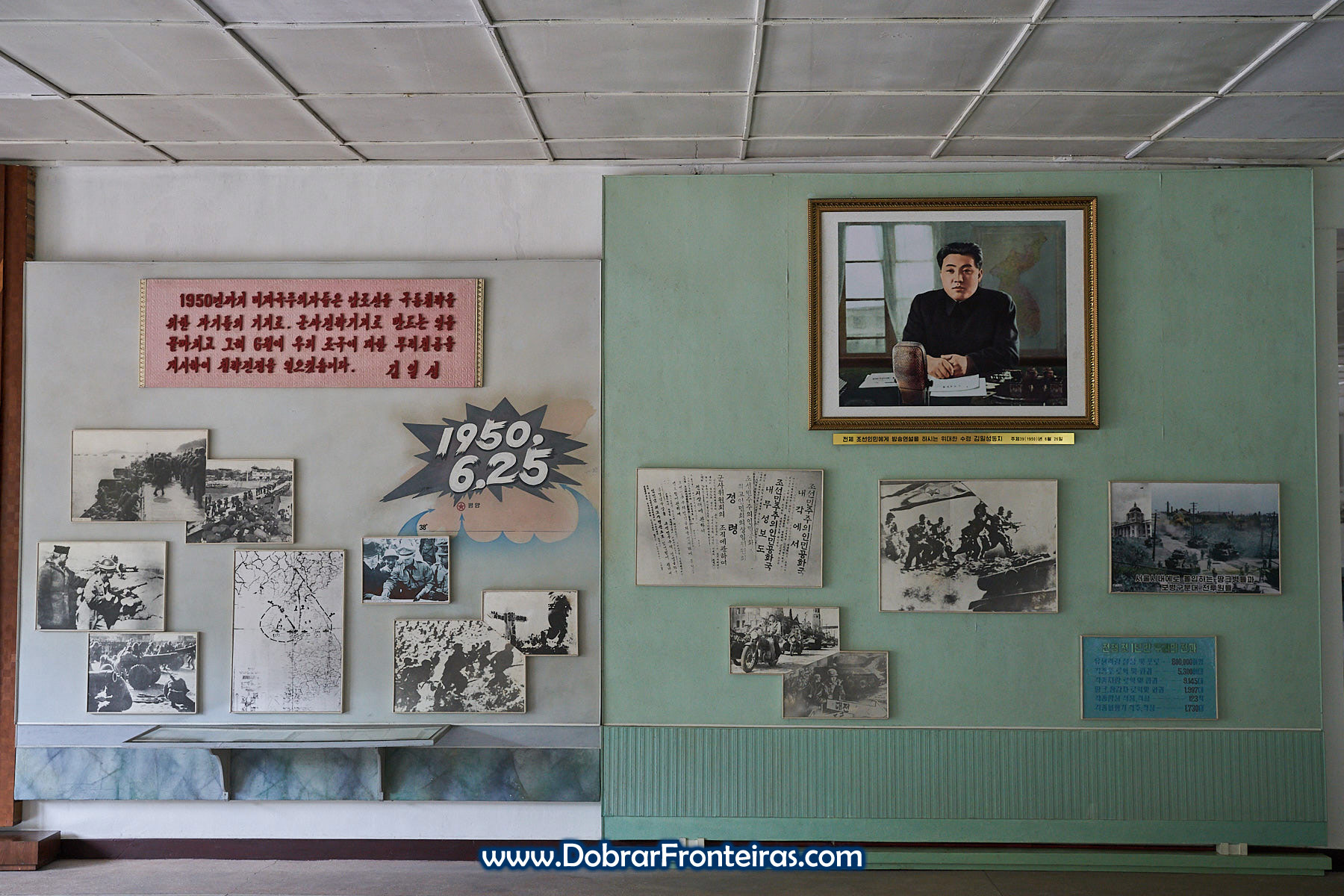 fotografias históricas da guerra da Coreia