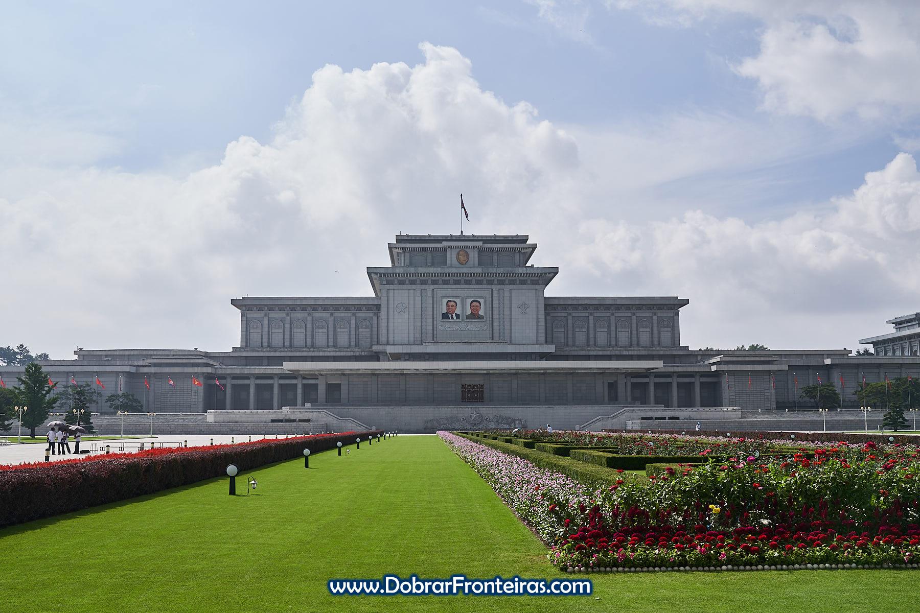 Kumsusan, o Palácio do Sol em Pyongyang