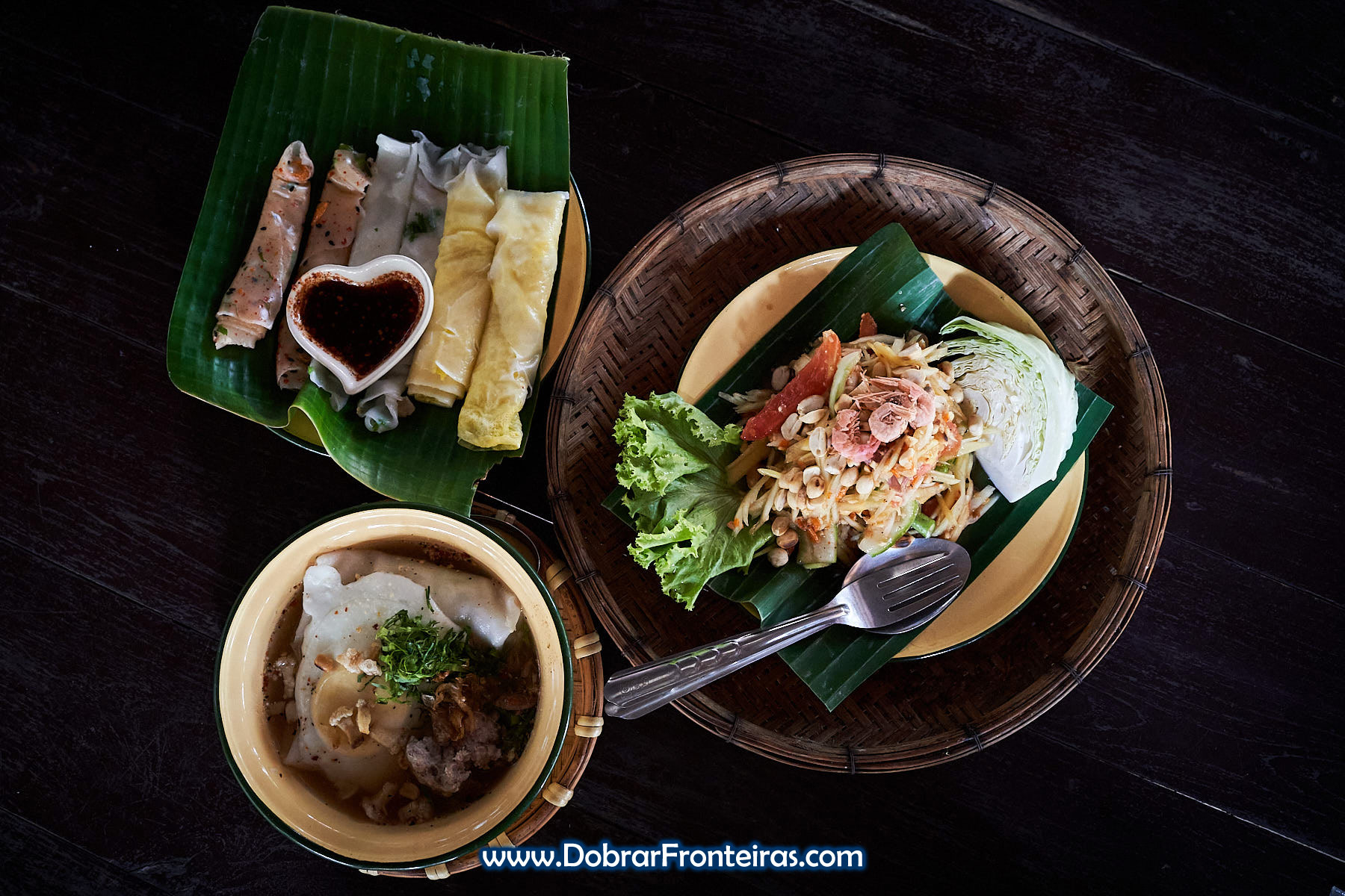 Kao Poep, comida tailandesa
