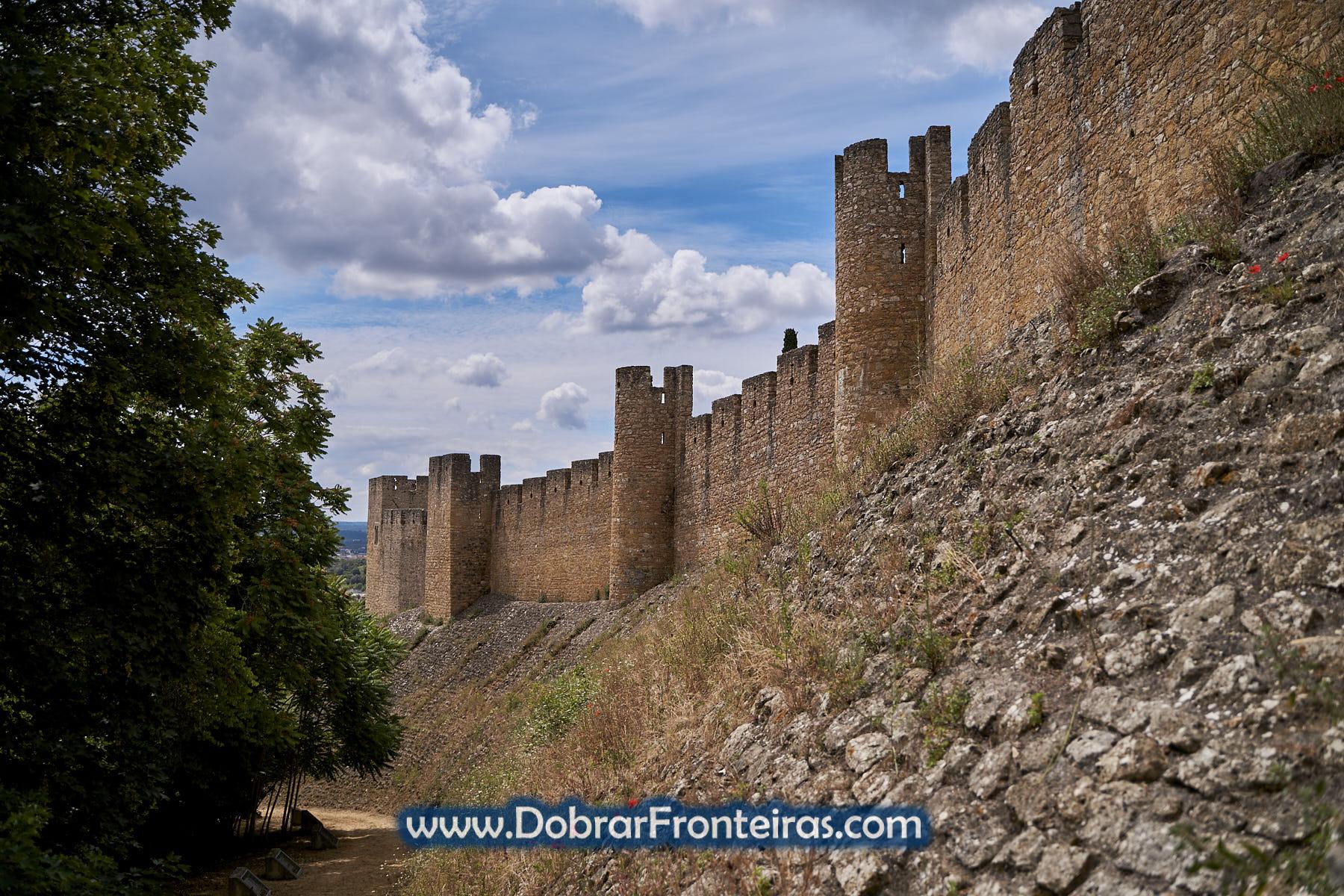 muralhas do castelo de Tomar
