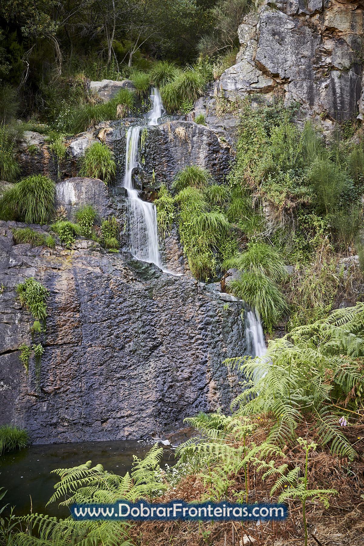 Cascata dos Poios em Vila de Rei