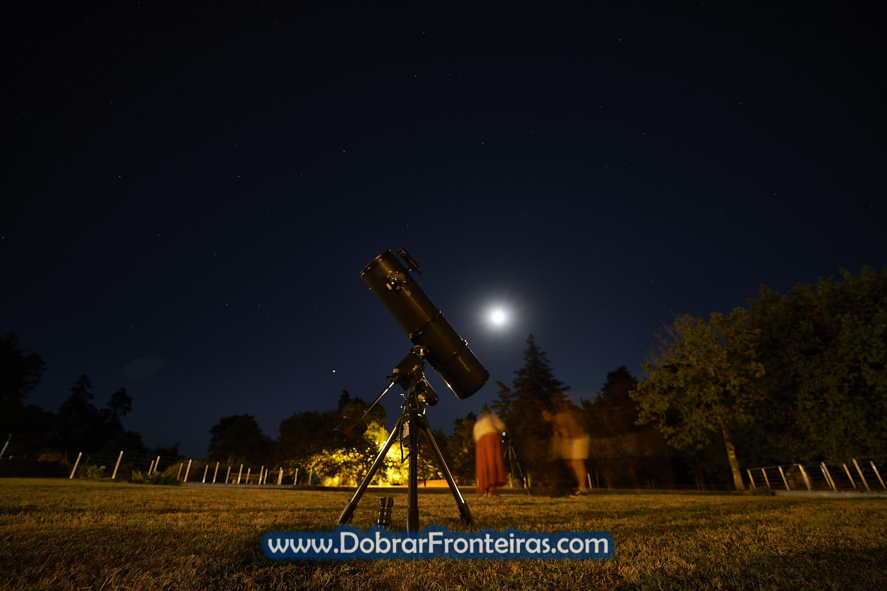 Telescópio de astronomia na Porta do Mezio, Peneda Gerês