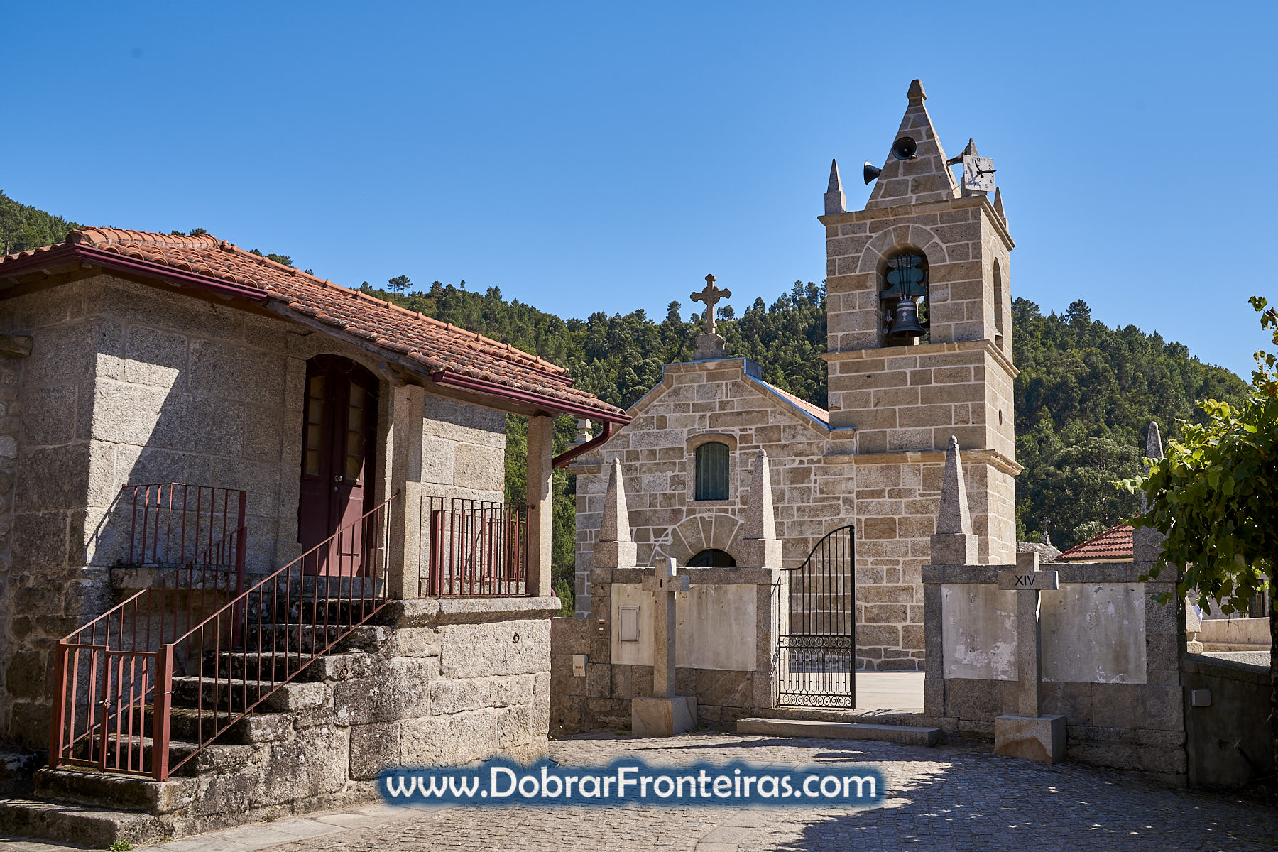 Igreja de pedra em Sistelo
