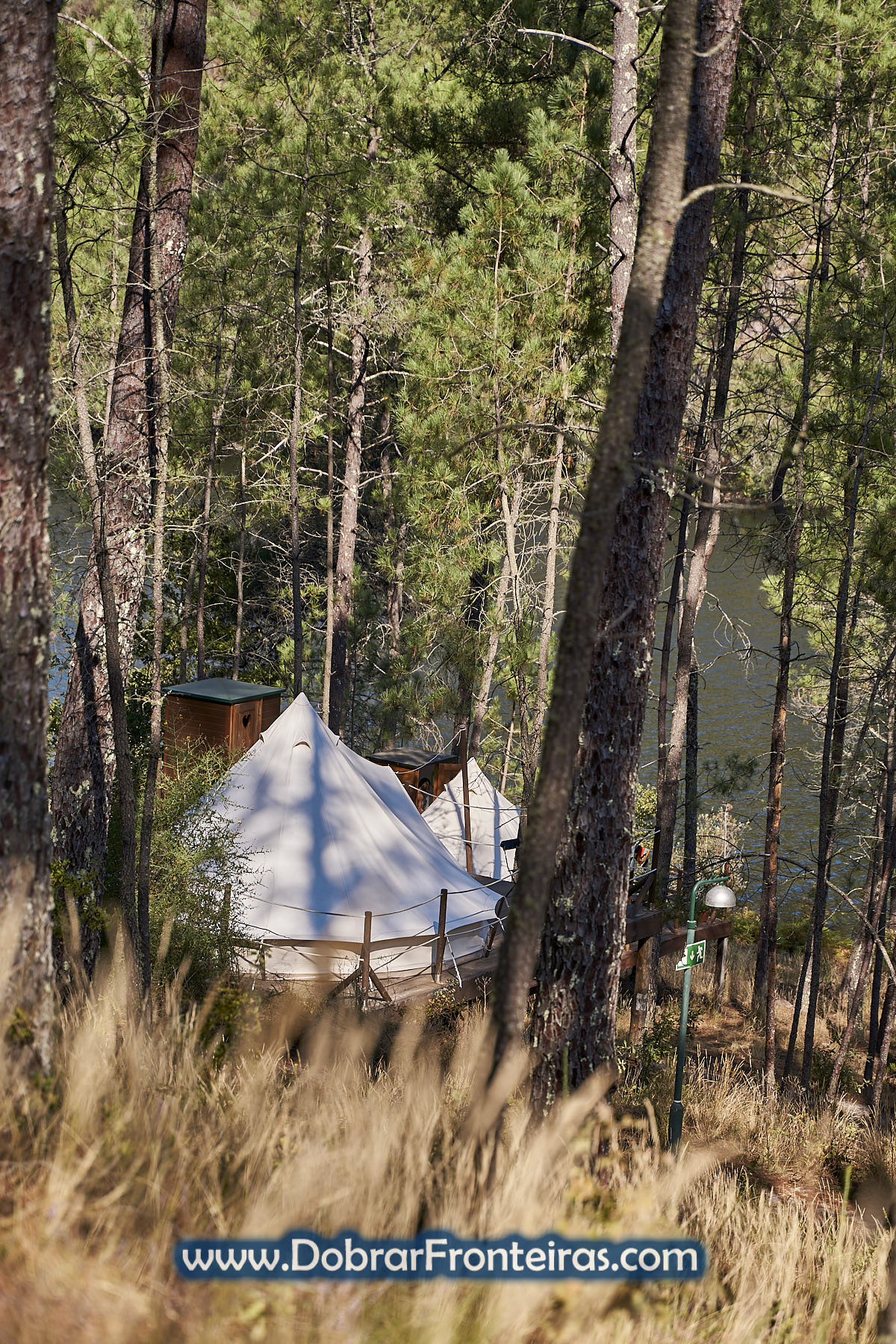 Tenda de Glamping do Lima Escape no Gerês