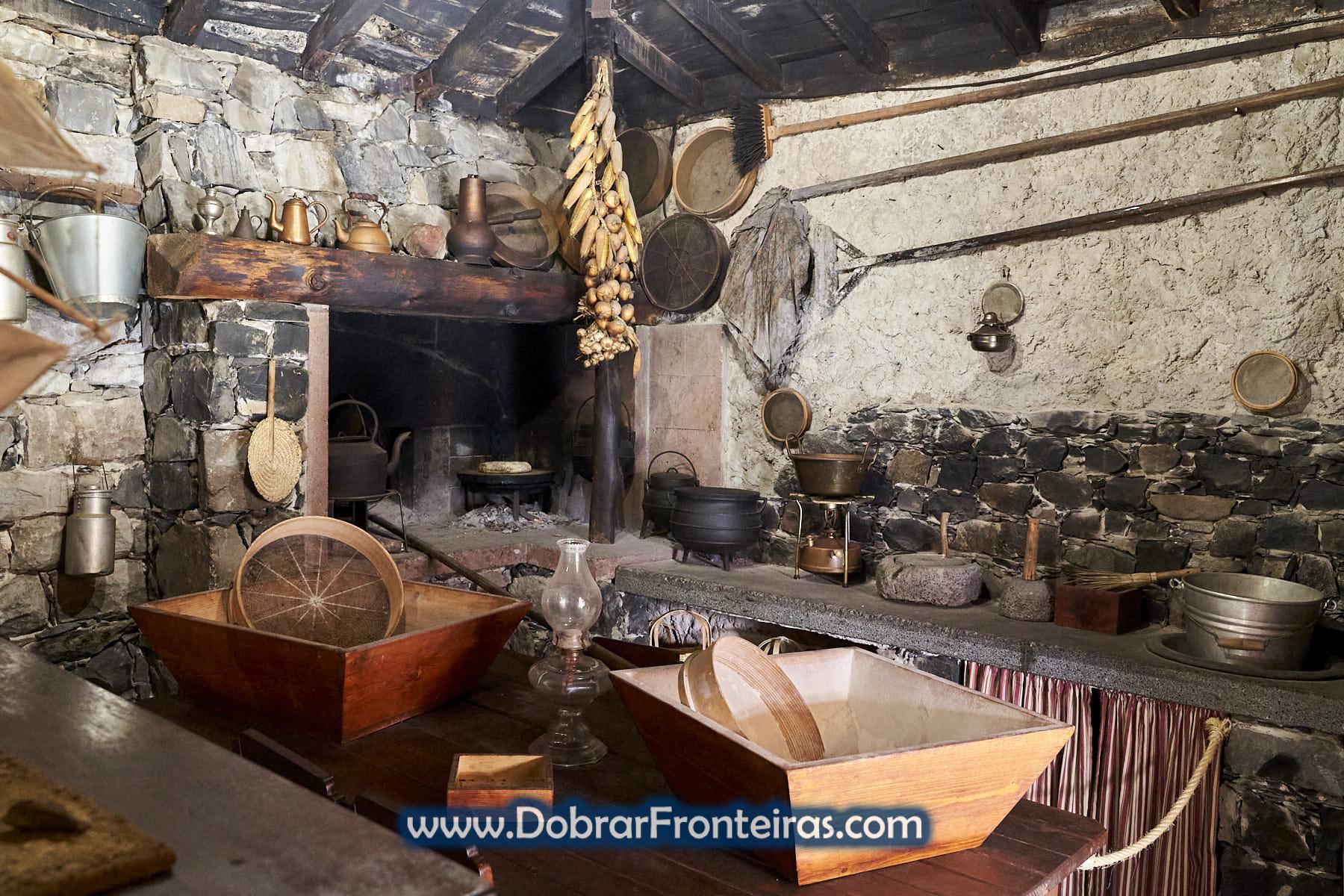 interior de casa rural no Porto Santo
