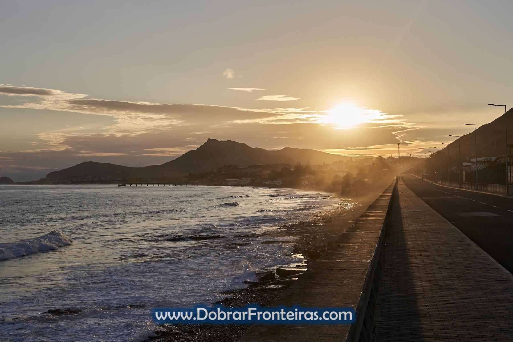 por do sol Porto Santo