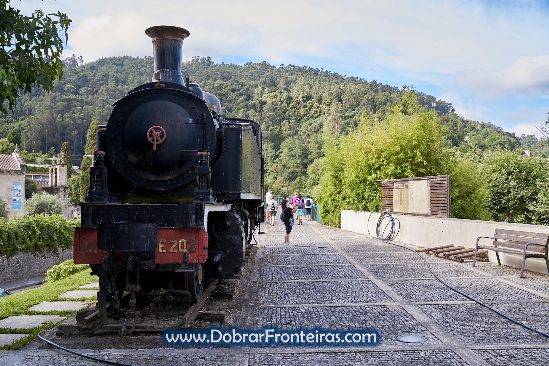 Locomotiva a vapor linha do Vouga