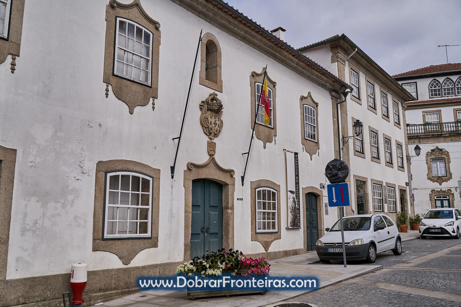 Fachada do Museu Municipal de Vouzela